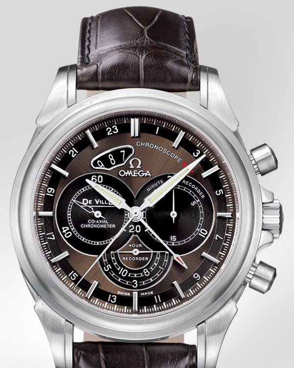 Imitacion Omega De Ville Co-Axial Chronoscope
