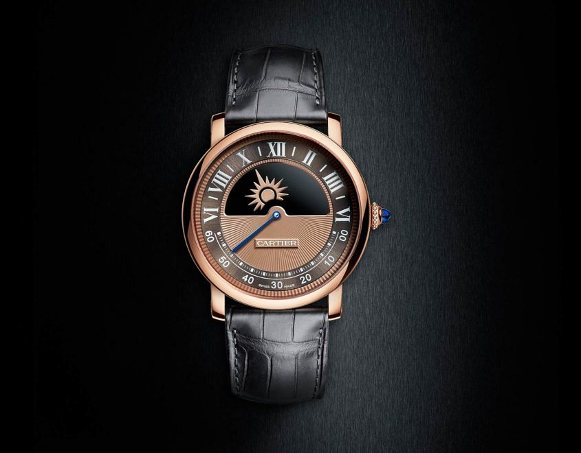 Cartier Rotonde De Cartier Mysterious Day Night Replica Reloj