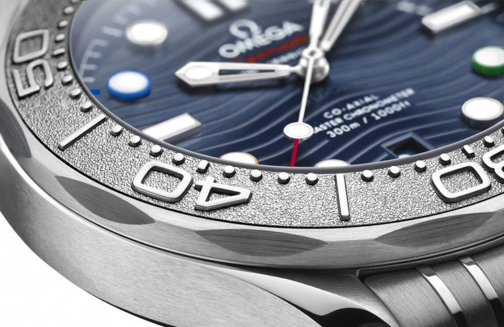 Omega Seamaster Diver 300M Beijing 2022 Special Edition Relojes Imitacion