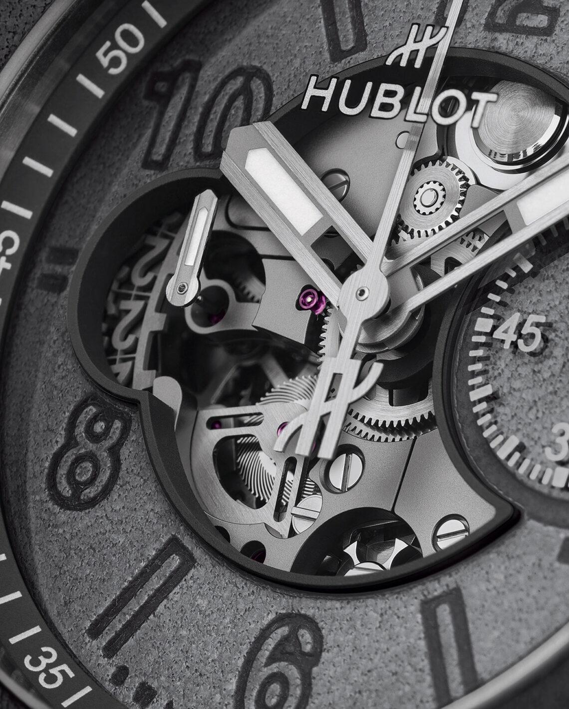 Hublot Big Bang Unico Berluti Aluminio Replica